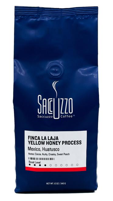 Saccuzzo Coffee Mexico Finca La Laja  Yellow Honey 12oz