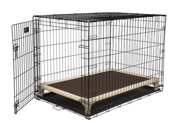 Standard Almond PVC Crate Bed