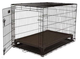 Standard Walnut PVC Crate Bed