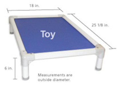 Replacement Fabric for Standard PVC & Aluminum Beds