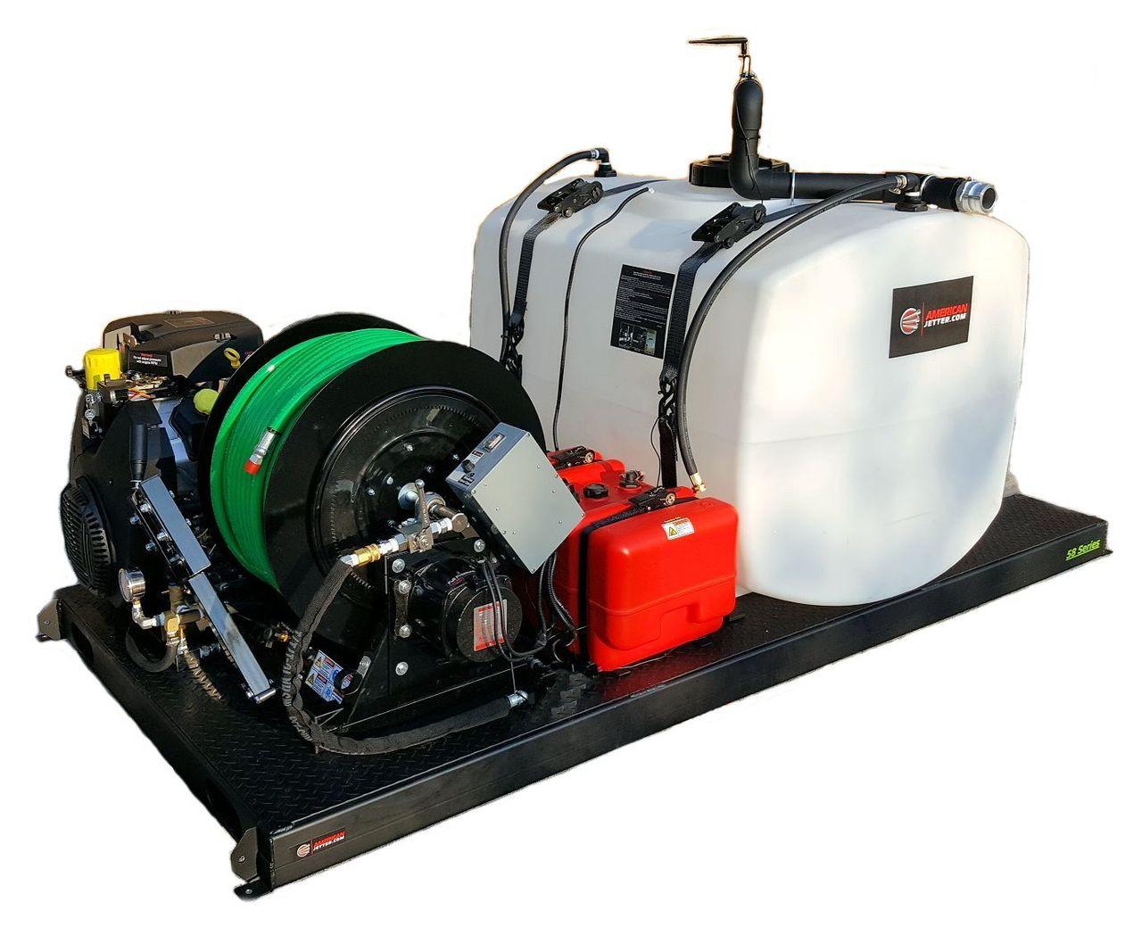 48 Series Skid Jetter 1140 - 37 HP, 11 GPM, 4000 PSI