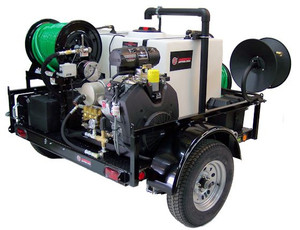 55 Series Diesel Trailer Jetter 430 - 9.8HP, 4 GPM, 3000 PSI