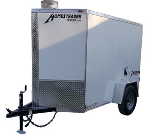 58C Cargo Trailer Hot Jetter 8540 - 32.5 HP, 8.5 GPM, 4000 PSI, 200 Gallon