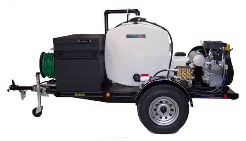 58 Series Trailer Jetter 650 - 32.5 HP, 6 GPM, 5000 PSI 200 Gallon