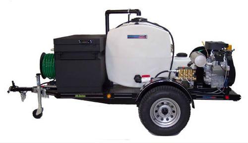 58 Series Trailer Jetter 650 - 38 HP EFI, 6 GPM, 5000 PSI 200 Gallon