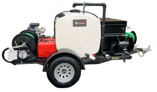 58 Series Trailer Jetter 1030 - 27 HP, 10 GPM, 3000 PSI