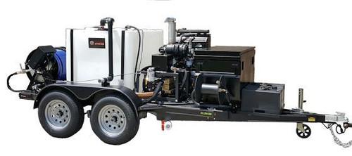51TD Series Diesel Trailer Jetter 2630, 26 GPM, 3000 PSI, 330 Gallon