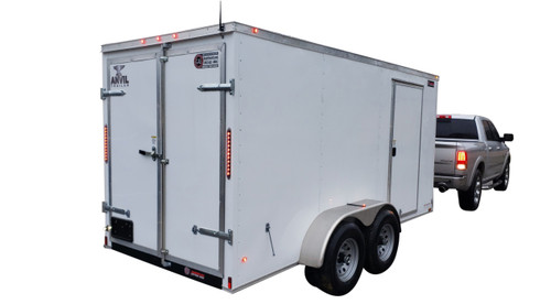 61CT Series Tandem Axle Cargo Trailer Jetter 1840 - 76 HP EFI, 18 GPM, 4000 PSI, 300 Gallon