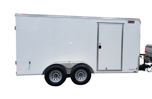61CT Tandem Axle Cargo Trailer Jetter 1640 -  53 HP EFI, 16 GPM, 4000 PSI, 300 Gallon