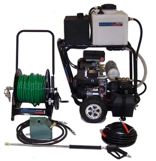 Cart Kit 740 - 27 HP, 7 GPM, 4000 PSI, 16 Gallon