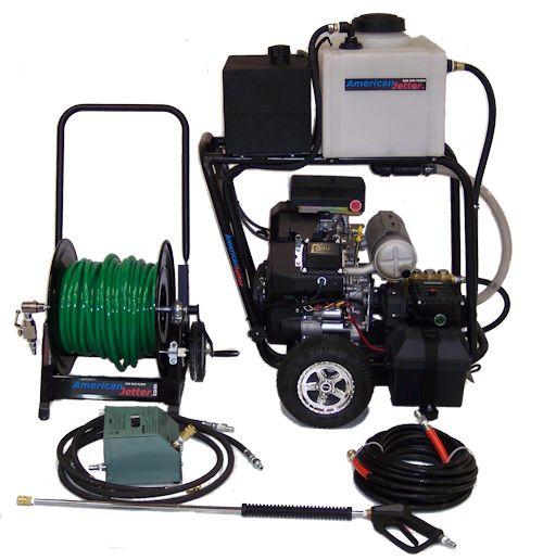 Cart Kit 740 - 27 HP, 7 GPM, 4000 PSI, 16 Gallon