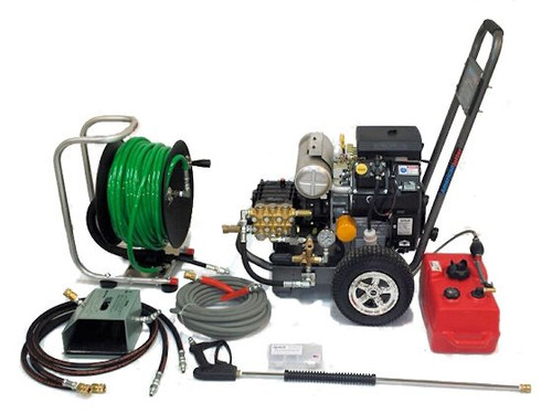Cart Kit 4550 - 19 HP EFI, 4.5 GPM, 5000 PSI, Garden Hose Inlet
