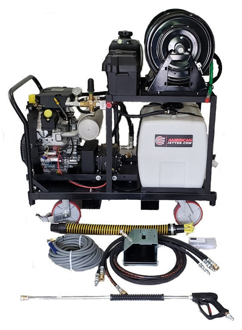 Platform Cart 1230 - 38 HP EFI, 12 GPM, 3000 PSI, 30 Gallon