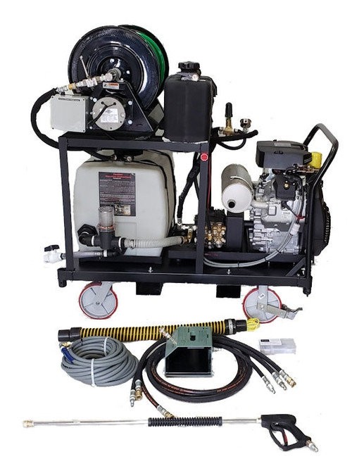 Platform Cart 8540 - 38 HP EFI, 10 GPM, 4000 PSI, 30 Gallon