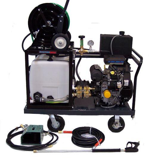 Platform Cart 1030 - 26.5 HP, 10 GPM, 3000 PSI, 30 Gallon