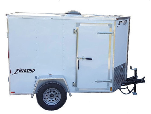 58C Cargo Trailer Jetter 1825 - 38 HP EFI, 18 GPM, 2500 PSI, 200 Gallon