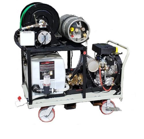 Platform Cart Jetter  8540 - 32.5 HP, 8.5 GPM, 4000 PSI Propane (LP)