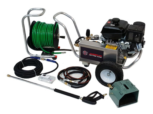American Jetter Cart Kit 4 GPM 4000 PSI 14 HP Electric Start Kohler Powered