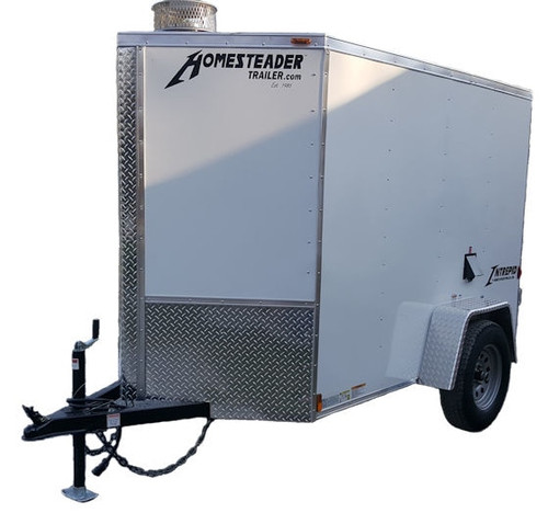 58C Cargo Trailer Hot Jetter 1140 - 38 HP EFI, 11 GPM, 4000 PSI, 200 Gallon