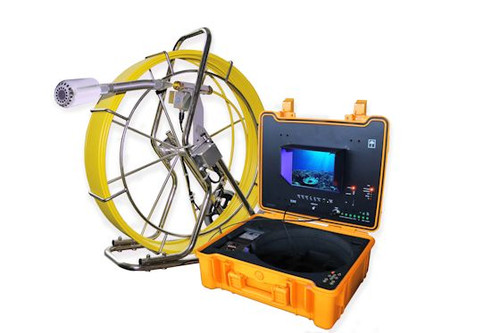 Sewer Drain Camera  400' Cable 512Hz Sonde DVR with Footage Counter