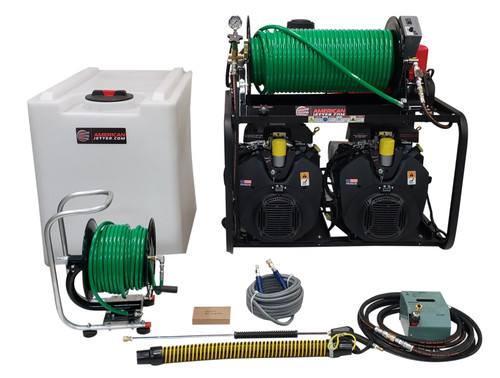 Van Kit 2040 - 76 HP EFI, 20 GPM, 4000 PSI