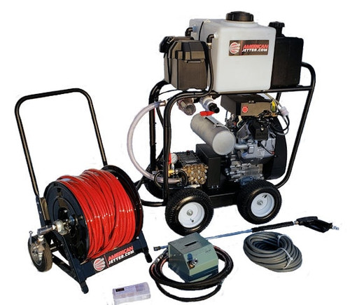 Cart Kit 6650 - 38 HP EFI, 6.6 GPM, 5000 PSI, 16 Gallon