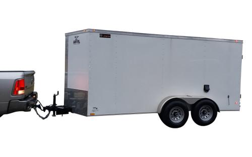 61CT Series Tandem Axle Cargo Trailer Jetter 1230 - 38 HP, EFI 12 GPM, 3000 PSI, 300 Gallon