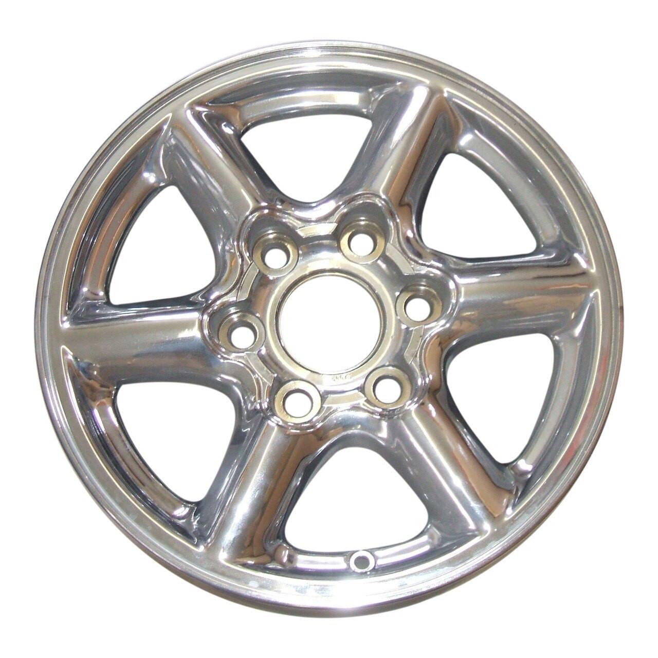 1999 2000 Gmc Denali Yukon Cadillac Escalade 16 Factory Original Chrome Wheel Rim 5094 5068