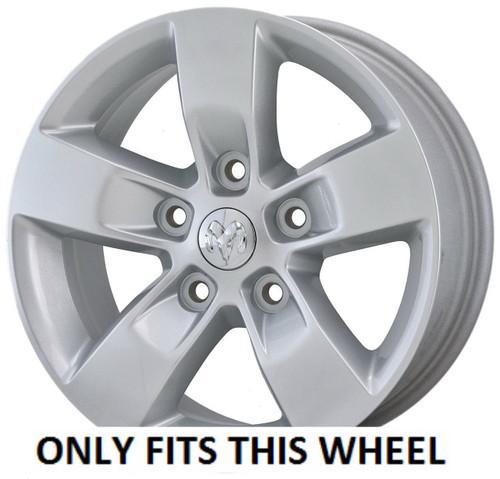 "20/"" Chrome Wheel Skin 13-17 Dodge Ram 1500 Set of 4 Part #IMP361X"