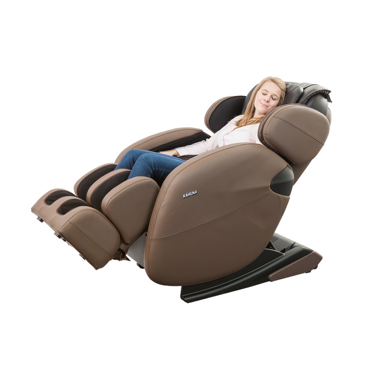 [PRE-ORDER 8-15-21] [LM] Basic L-track Full-body Kahuna Massage Chair, LM-6800 Brown