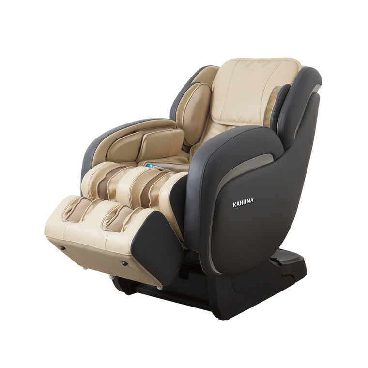 [LM] Deluxe L-track Full-body Kahuna Massage Chair, LM-7800 Ivory [3 AVAILABLE]