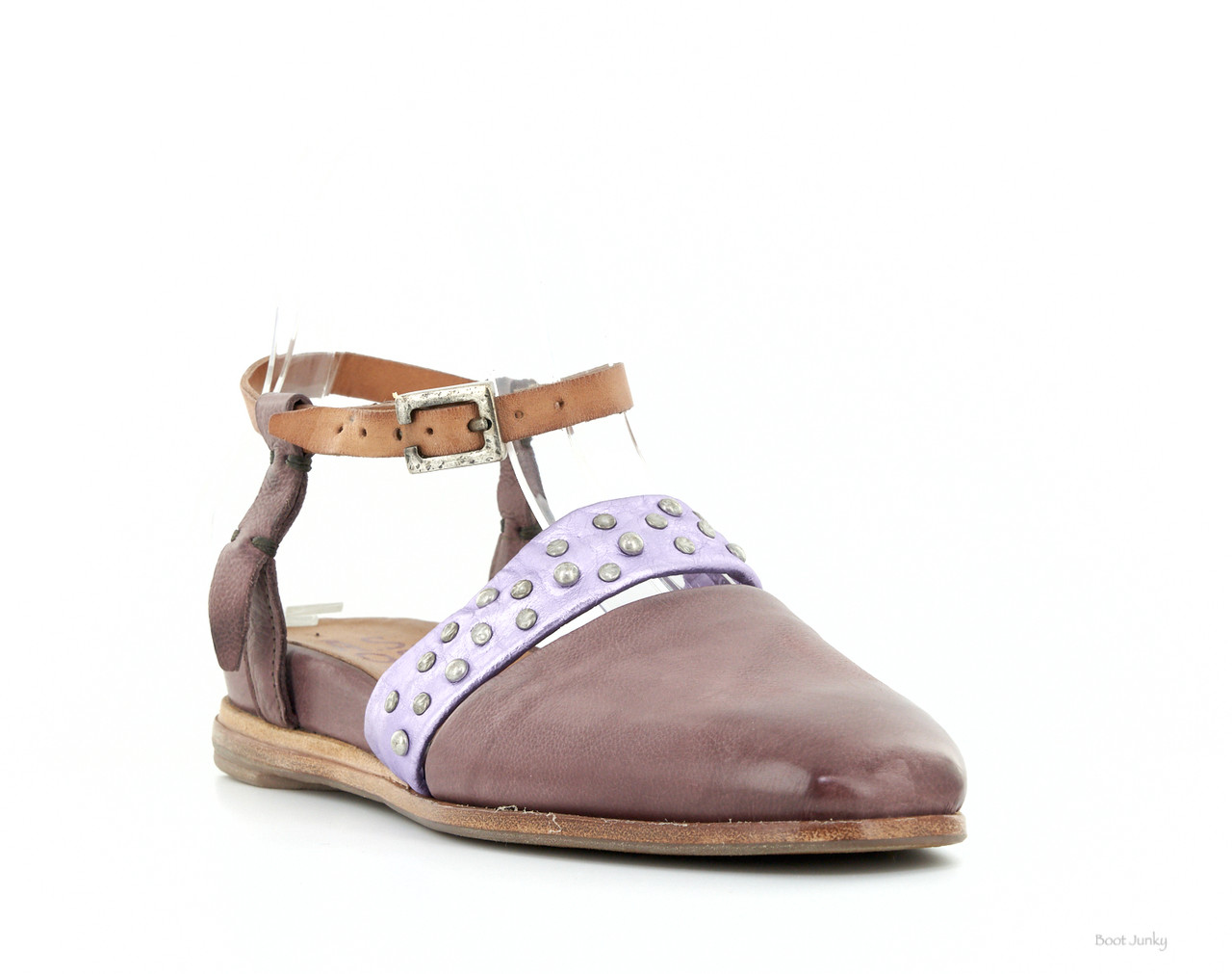 Italian As98 Tropea Gail Lilac Leather Womens Sandals UzVqSMp