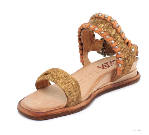 A.S.98 SALLIE ORO GOLD WOMEN'S SANDALS