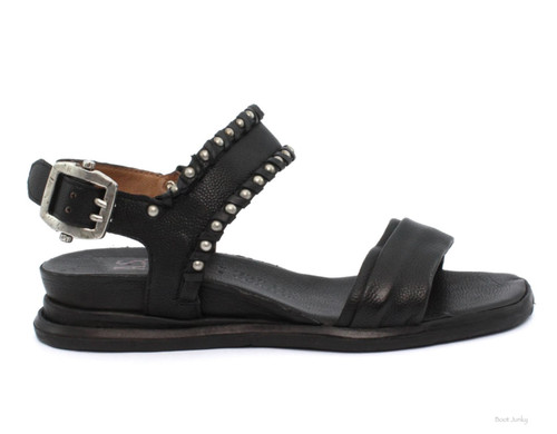 A.S.98 SALLIE NERO BLACK WOMEN'S SANDALS