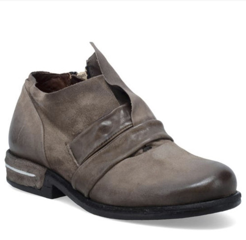 A.S.98 TAREK FANGO LEATHER SHOE BOOTIES
