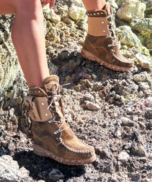 EL VAQUERO Nikila Indiana Kamo Hunt Mocc Boots