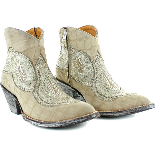 """BL2978-7 OLD GRINGO BIANCA 5"""" FUSIL LEATHER ANKLE BOOTS"""