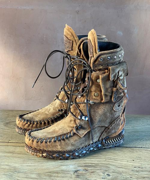 EL VAQUERO Nikila Carmel Couro Mocc Boots