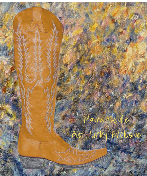 """L 1213-? Old Gringo Women's Mayra 18"""" Boots Seville"""