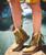 El Vaquero Dany Apex Desert Hidden Wedge Moccasin Leather Boots