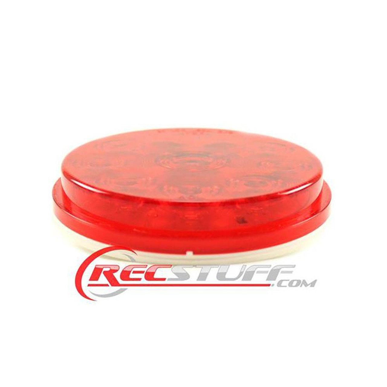 "LED 4"" Round Red Trailer Tail Light / Turn Signal Light"