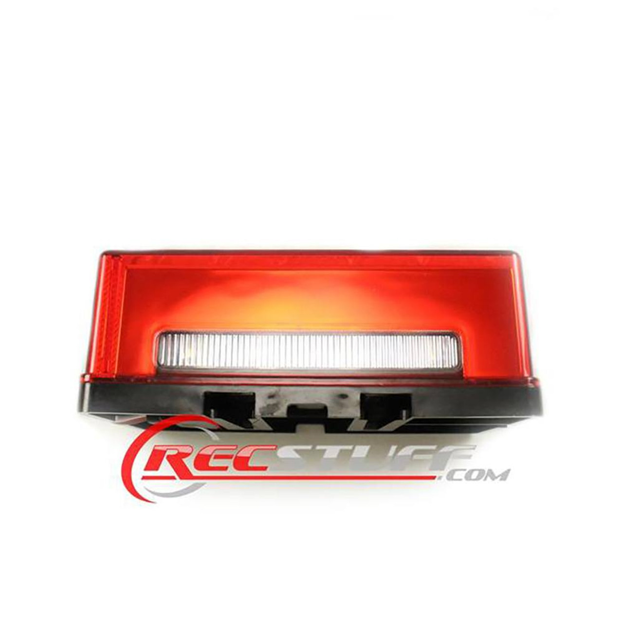 """Submersible LED Tail Light / Turn Signal Left Hand Over 80"""" Light With Ground Wire"""