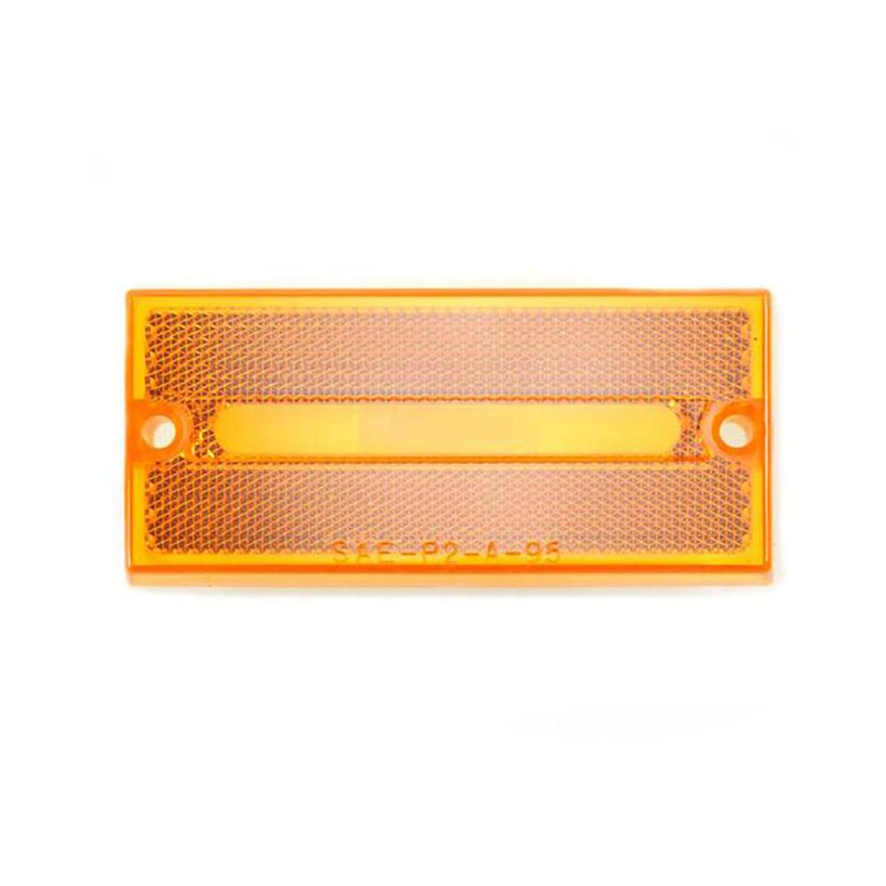 Housing - Amber reflex lens and ABS base only