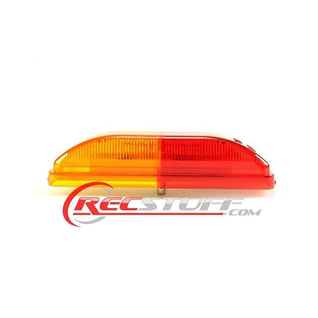 Large Red/Amber LED Clearance Trailer light - Snap Lock