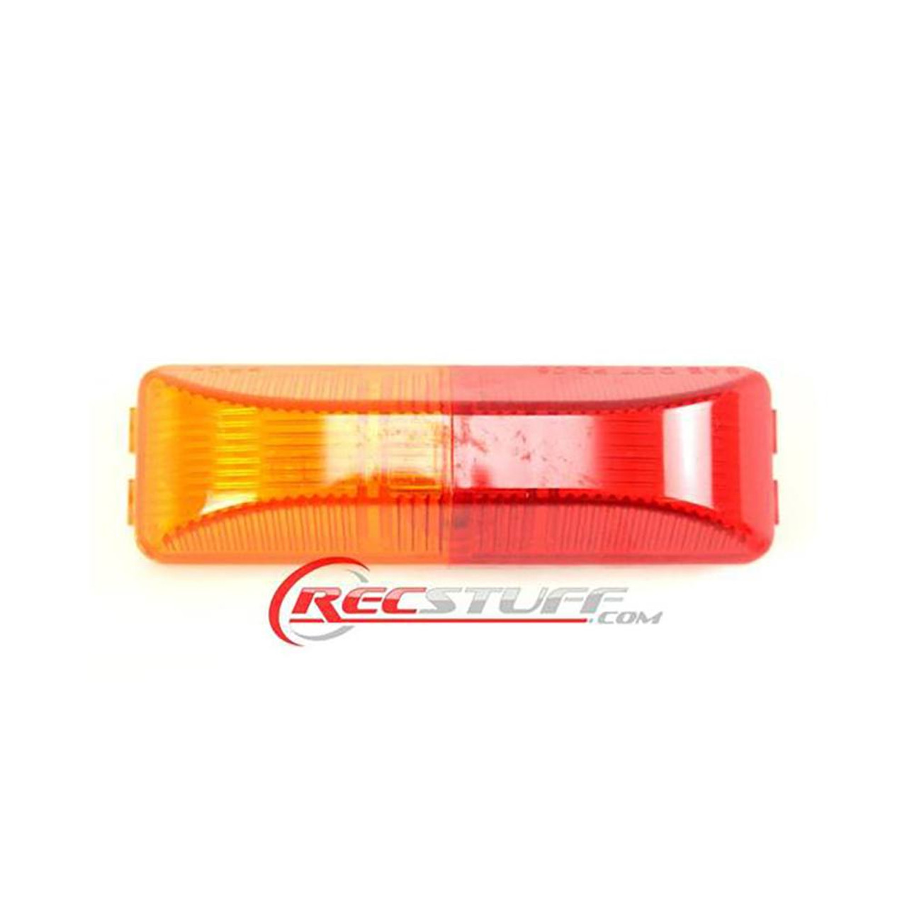 Large Red/Amber Clearance Light - Snap Lock