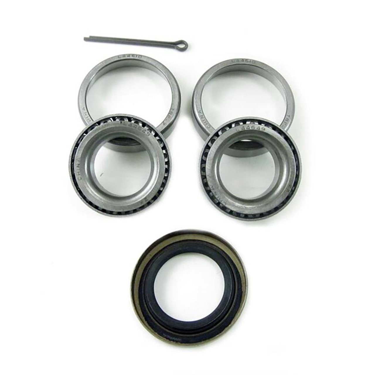 Bearing Kit: L44649 Bearings with L44610 Races - Seal and Pins included