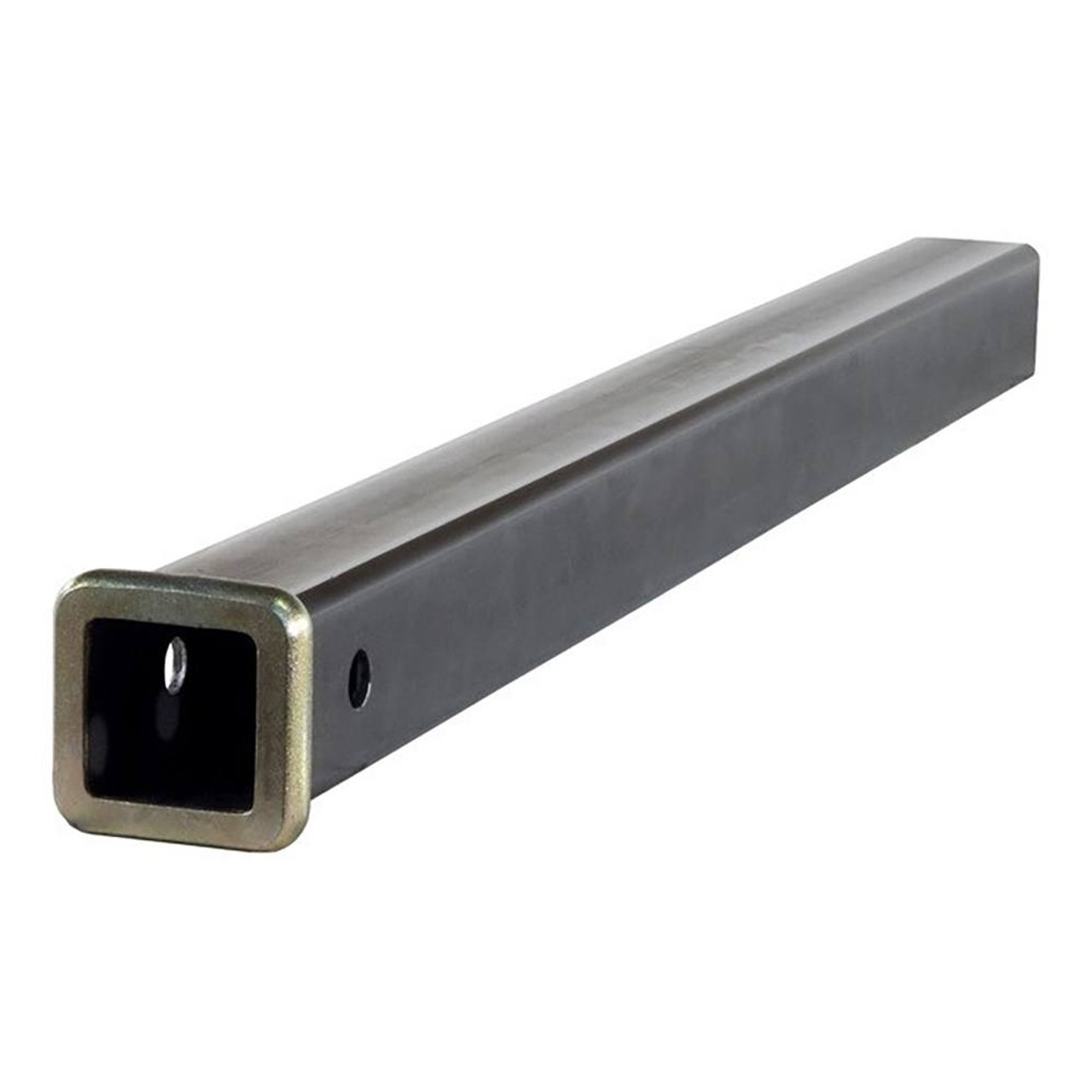 Receiver Tube- Raw Finish- 36 in. Length- 2 in. ID- Fits 1.25/2 in. Ball Mount- w/0.5 in. Collar-