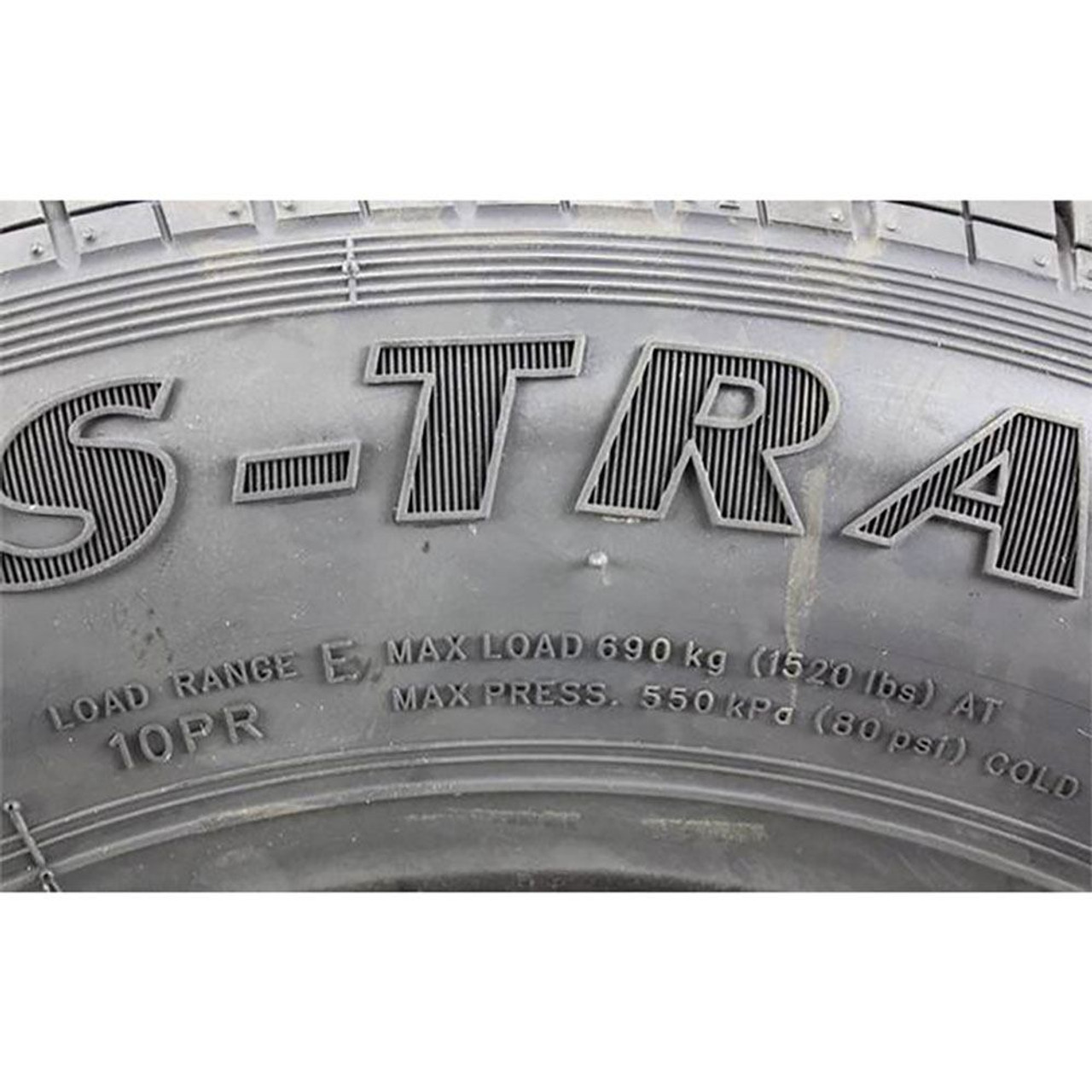 ST145/R12 Kenda Karrier S-Trail Radial Trailer Tire - Load Range D