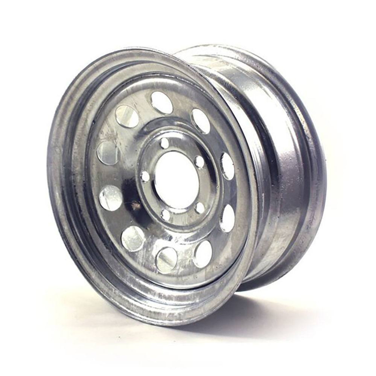 "14X5.5 5-Lug on 4.5"" Galvanized Mod Trailer Wheel"