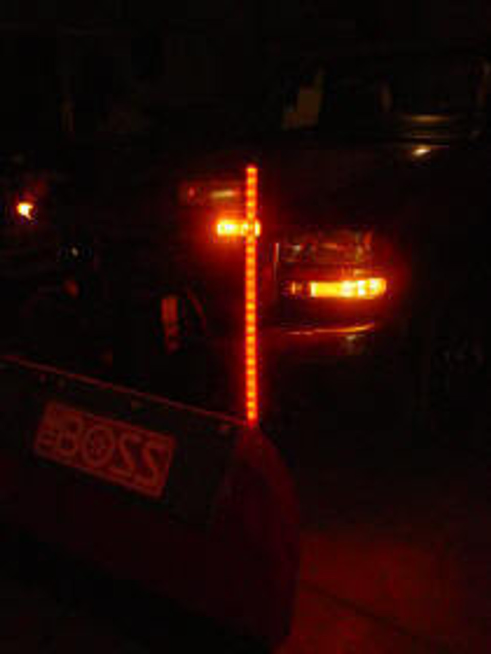 Lighted Snow Plow Marker